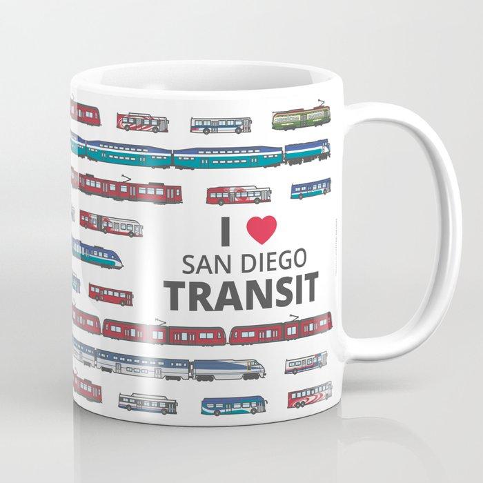 The Transit of Greater San Diego Coffee Mug