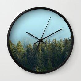 Early Morning Mist Wall Clock