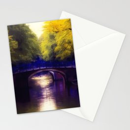 A small bridge Stationery Cards