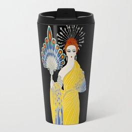 """Art Deco Design """"Aphrodite"""" by Erte Travel Mug"""