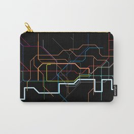 London Tube Map Carry-All Pouch