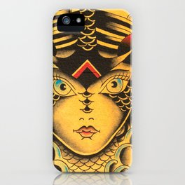 New KG Art Traditional Lady iPhone Case