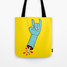 Throwin' Up the Horns Tote Bag