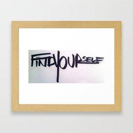 Fy Framed Art Print