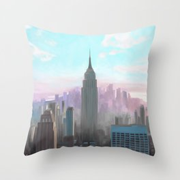 New York, New York  Throw Pillow
