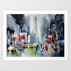 New York - New York Art Print