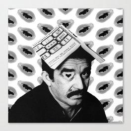 Gabriel García Márquez Canvas Print