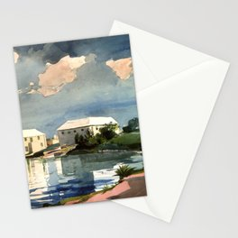 Salt Kettle Bermuda 1899 By WinslowHomer | Reproduction Stationery Cards