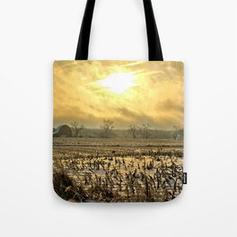 Overcast Sunrise 2 Tote Bag