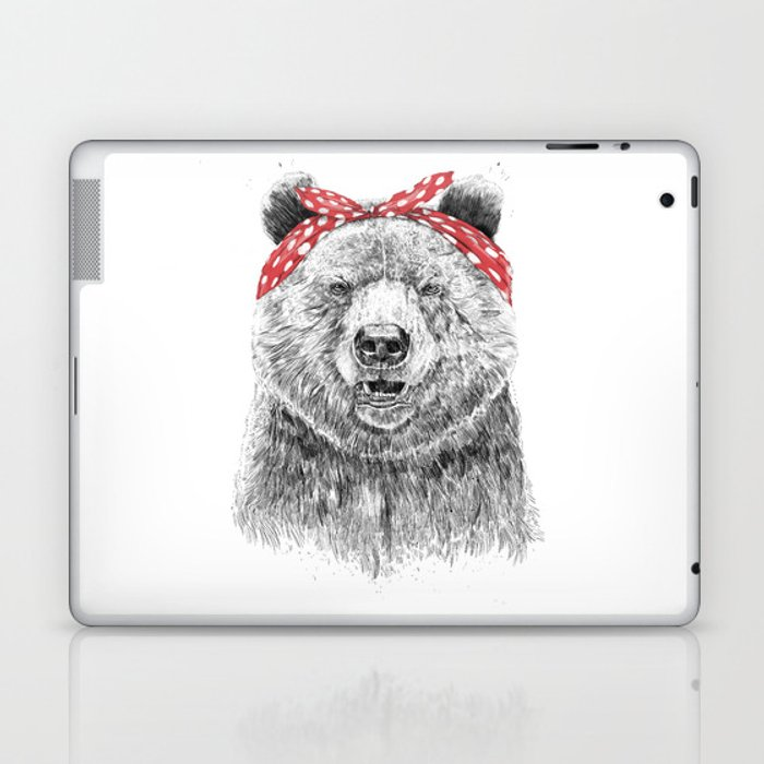 Break the rules (without text) Laptop & iPad Skin