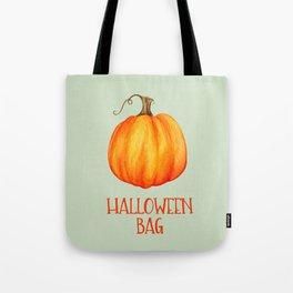 Halloween Bag with Pumpkin Tote Bag