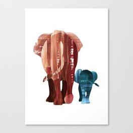 A walk together Canvas Print