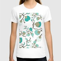 wallpaper T-shirts featuring Wallpaper floral by cactus studio