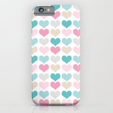 sweet hearts iPhone 6s Slim Case