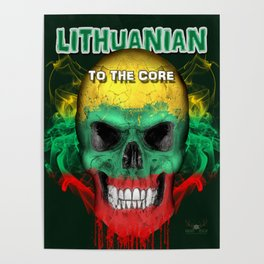 To The Core Collection: Lithuania Poster