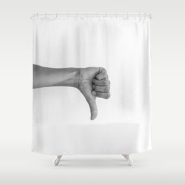 hands 2 - flop Shower Curtain