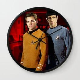 Star Trek Old/New Wall Clock