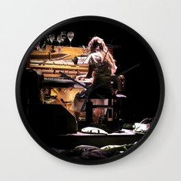 Live weird piano Wall Clock