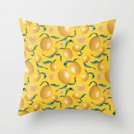 Sorrento Lemons Throw Pillow