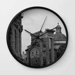 Roman Wanderings Wall Clock