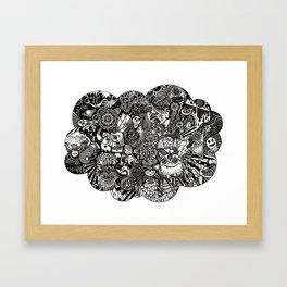 Thought Bubble #2 - BBC on LSD Framed Art Print
