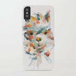 + Watercolor Alpaca + iPhone Case