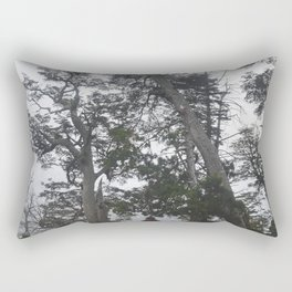 Walk on the forest Rectangular Pillow