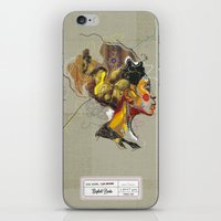 erykah badu iPhone & iPod Skins featuring Erykah Badu - Soul Sister | Soul Brother by Fitacola