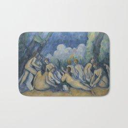 Cezanne Bathers Art Painting Bath Mat