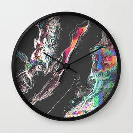 ƒun at parties Wall Clock