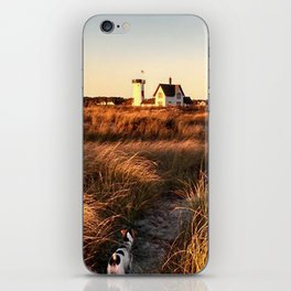Hardings Beach Light House iPhone Skin