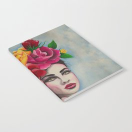 Flower Power Roses by Andrea Notebook