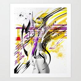EXPRESSION_#007 Art Print