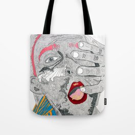 Breakfast, or ectoplasm? Tote Bag