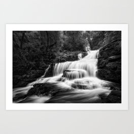 McLean Falls, New Zealand Art Print