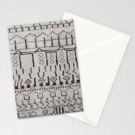 N7   Original Moroccan Brown Artwork Stationery Cards