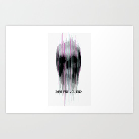 blured Art Print