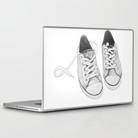 converse Laptop & iPad Skins featuring Converse by BlendByEli
