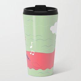 The Singing Whale Metal Travel Mug