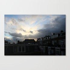 Dutch town Canvas Print