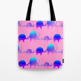 We Are Family - Elephants Tote Bag