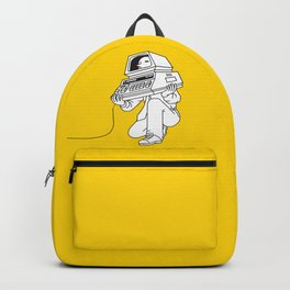 Computer head Backpack
