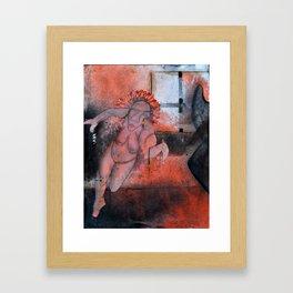 Pendiente Framed Art Print