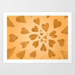 Valentine's Day X Art Print