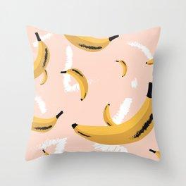 banana rama Throw Pillow