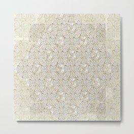 Loose Geometry - by Fanitsa Petrou Metal Print