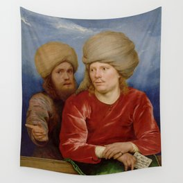 Michael Sweerts - Double Portrait Wall Tapestry