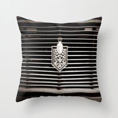 Car Grill Throw Pillow