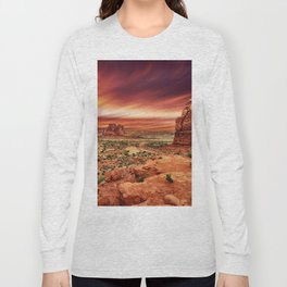 Arches at Sunset Long Sleeve T-shirt