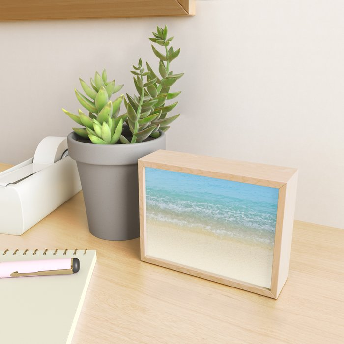 Blue Crush Framed Mini Art Print